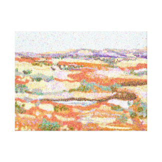 Australian Outback Impressionist landscape Canvas Print