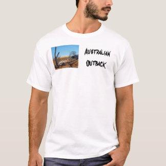 Australian outback landscape t-shirt