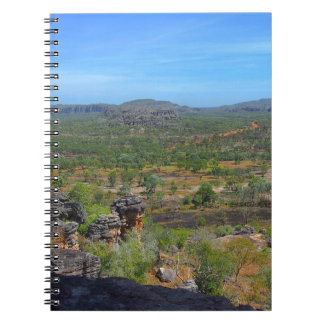 Australian outback notebook