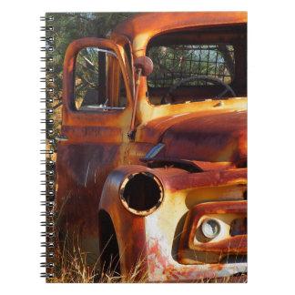 Australian outback truck notebook