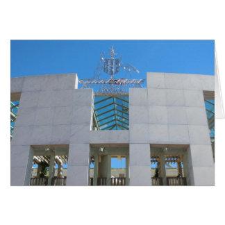 Australian Parliament - Canberra Greeting Card