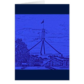Australian Parliament - Canberra Note Card