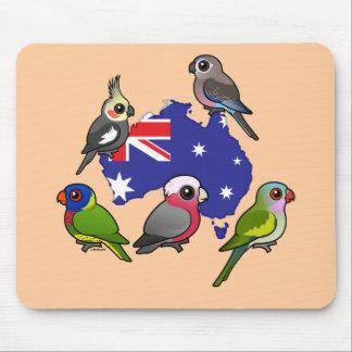 Australian Parrots Mouse Pad