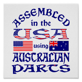 Australian Parts (W) Poster