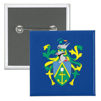 Australian Pitcairn Islands Flag 2 Inch Square Button