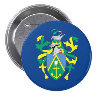 Australian Pitcairn Islands Flag 3 Inch Round Button