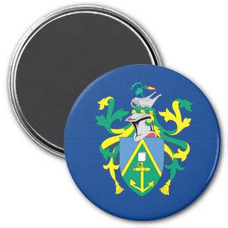 Australian Pitcairn Islands Flag 3 Inch Round Magnet