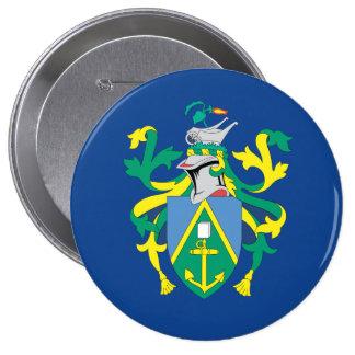 Australian Pitcairn Islands Flag 4 Inch Round Button