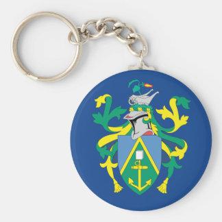 Australian Pitcairn Islands Flag Basic Round Button Keychain