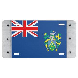 Australian Pitcairn Islands Flag License Plate