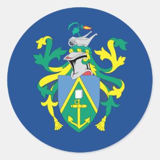 Australian Pitcairn Islands Flag Round Sticker