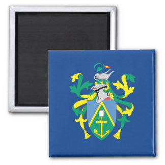 Australian Pitcairn Islands Flag Square Magnet