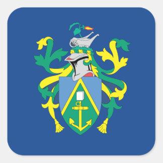 Australian Pitcairn Islands Flag Square Sticker