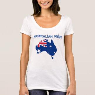 Australian Pride Flag Australia Woman Tshirt