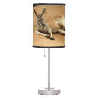 Australian Red Kangaroo Table Lamp