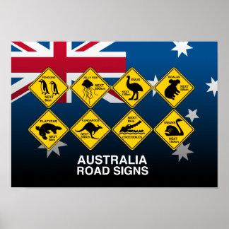 Australian road signs