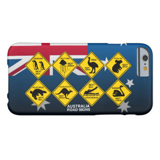 Australian road signs barely there iPhone 6 case