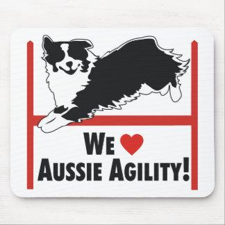 Australian Shepherd Agilty Mousepad