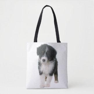 Australian Shepherd Aussie Puppy Dog Tote Bag