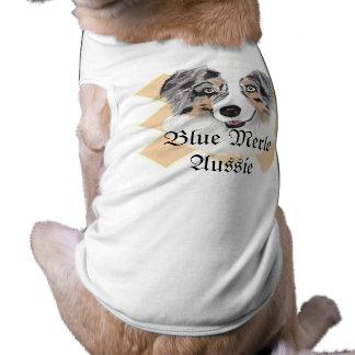 Australian Shepherd - Blue Merle Portrait Shirt