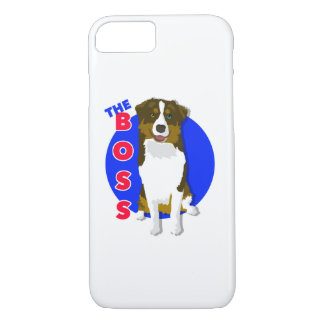Australian Shepherd Boss iPhone 7 Case