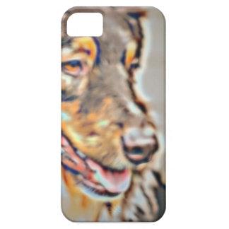 Australian Shepherd Cartoon iPhone 5 Case