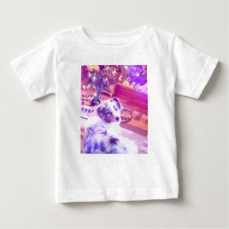 Australian Shepherd Christmas Baby T-Shirt