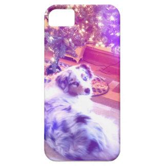 Australian Shepherd Christmas Case For The iPhone 5