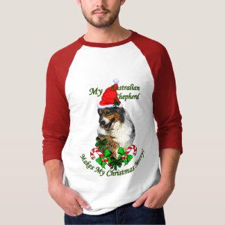 Australian Shepherd Christmas Gifts T-Shirt