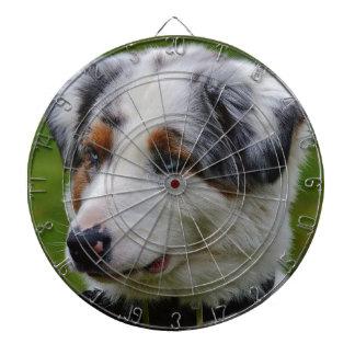 Australian Shepherd Dartboard