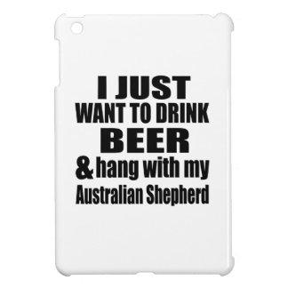 Australian Shepherd Dog Designs iPad Mini Cases