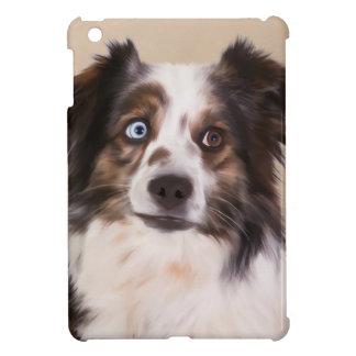 Australian Shepherd Dog Oil Painting Art Case For The iPad Mini