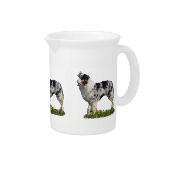 Australian Shepherd Drink Pitchers