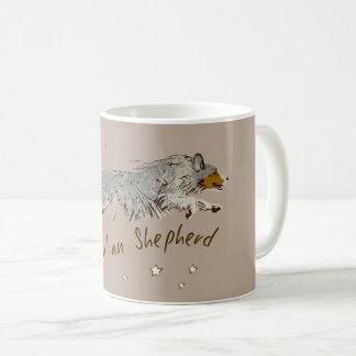Australian Shepherd, jumping Coffee Mug