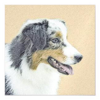 Australian Shepherd Magnetic Card