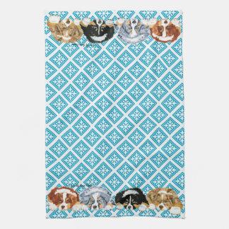 Australian Shepherd Puppies Kitchen Towel