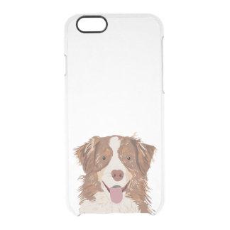 Australian Shepherd - red merle phone case