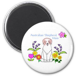 Australian Shepherd Red Mom Magnet