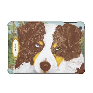 Australian Shepherd Red Tri Dog Portrait iPad Mini Retina Case