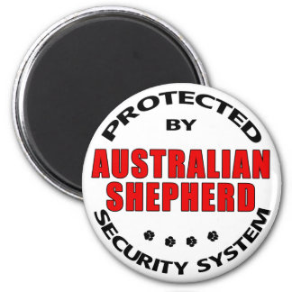 Australian Shepherd Security Magnet