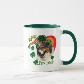 Australian Shepherd St Patricks Mug