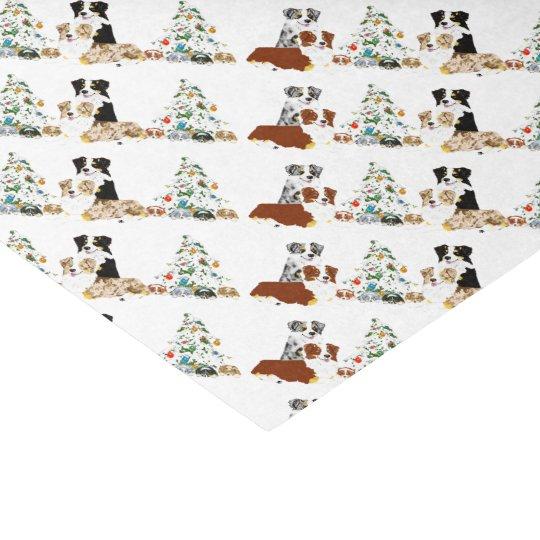 Australian Shepherd Tissue Paper