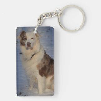 Australian Shepherds Keychain