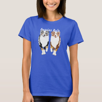Australian Shepherds Rule T-Shirt