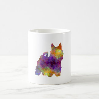 Australian Silky Terrier in watercolor Coffee Mug