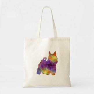 Australian Silky Terrier in watercolor Tote Bag