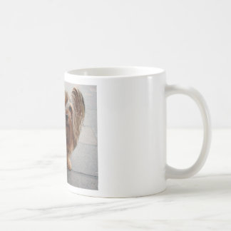 Australian Silky Terrier Puppy Dog Coffee Mug