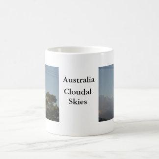 Australian skies coffee mug