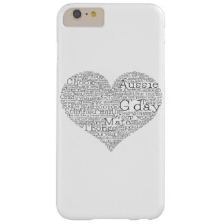 Australian slang heart barely there iPhone 6 plus case
