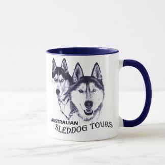 Australian Sleddog Tours banner 2 001, Australi... Mug